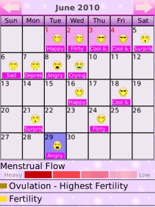 Period Calendar Deluxe | Imma Let You Finish