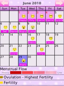 Menstrual Cycle Calendar.Period Calendar Deluxe Imma Let You Finish
