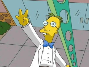 Professor Frink from the Simpsons